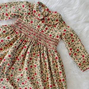 Laura Ashley Mother & Child flannel floral dress 3